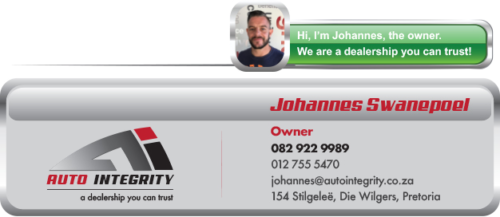 Auto Integrity - Used Car Dealer Pretoria